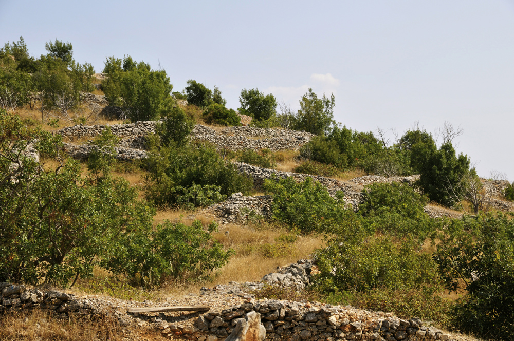 Ancient Walls, Island of Hvar, Croatia