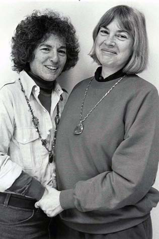 Blanche Cook and Clare Coss
