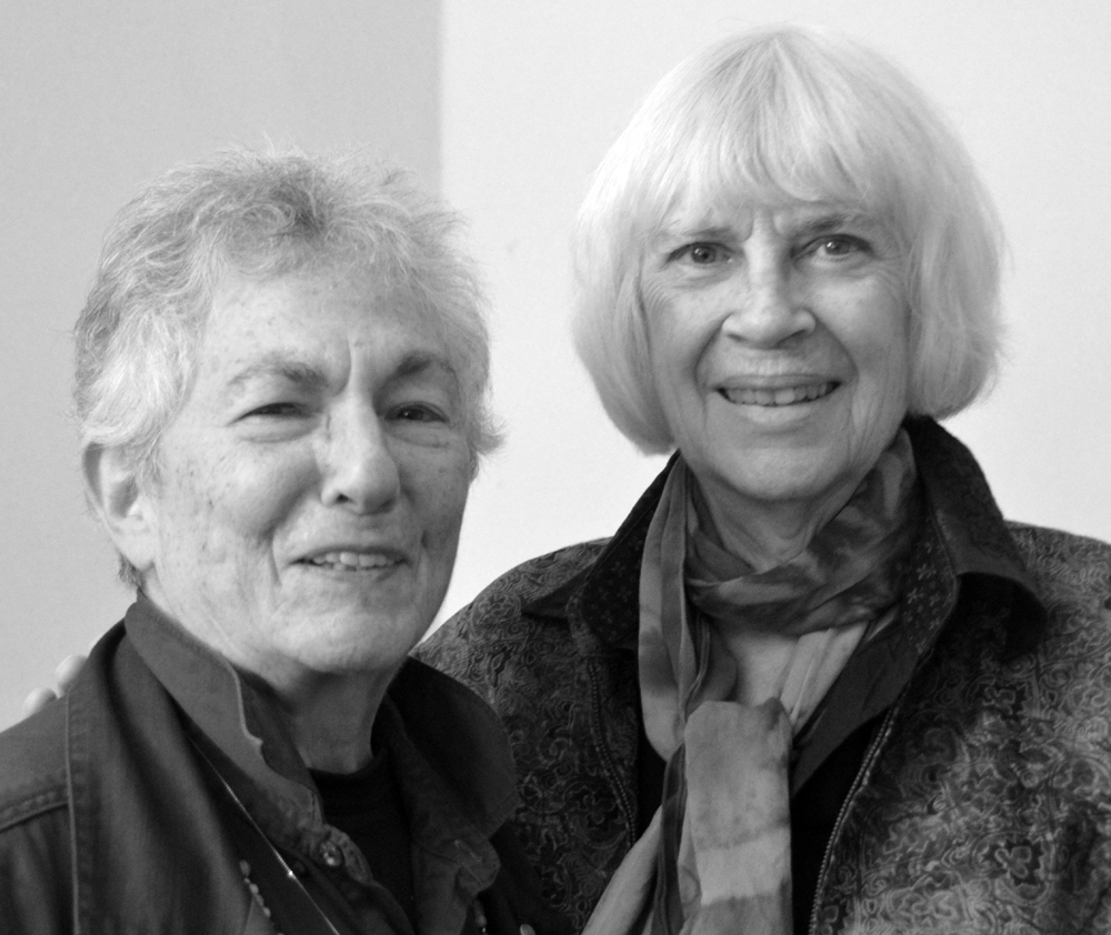 Blanche Cook and Clare Coss, 2015