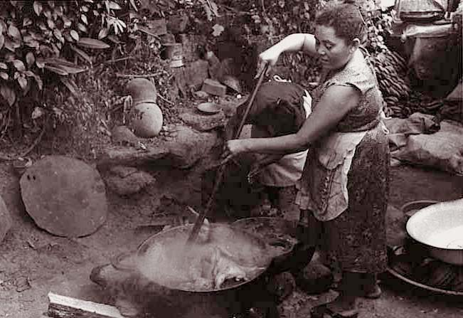 Woman Cooking, Masaya