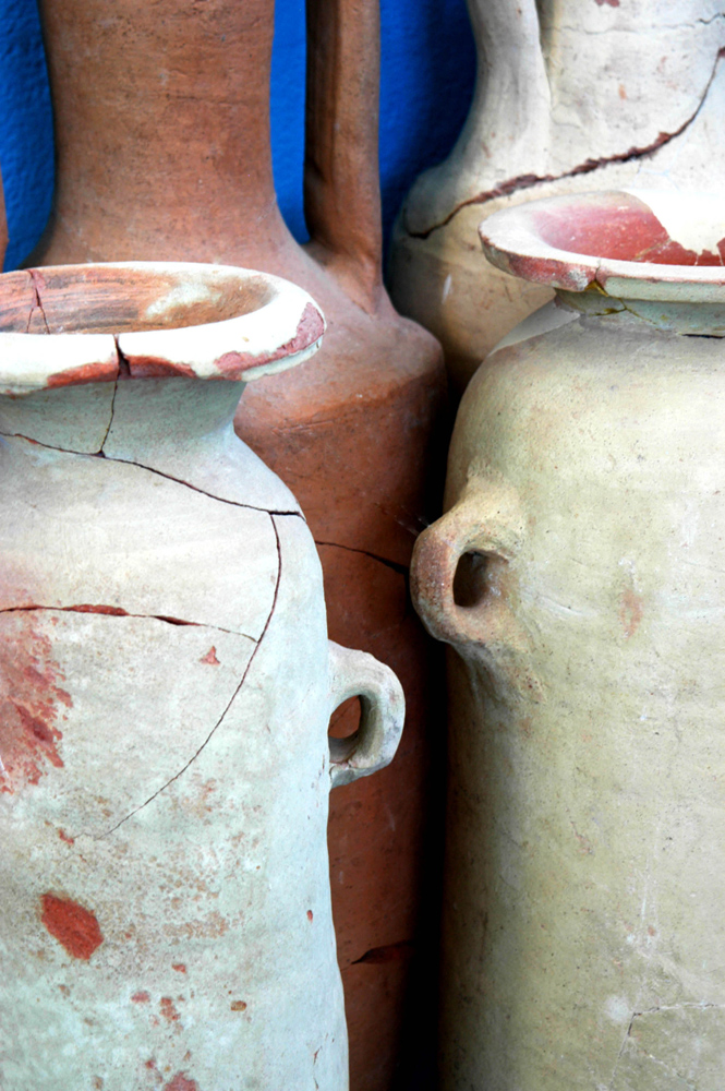 Earthenware Jars, Delos, Greece