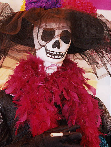 Days of the Dead, Mexico, Elegant Death