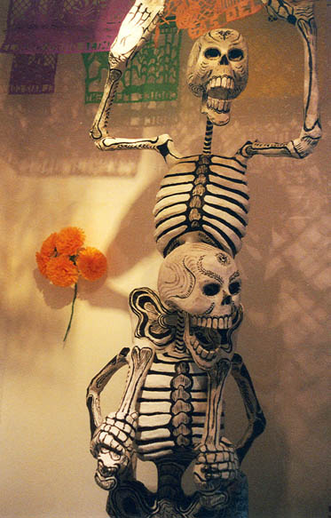 Days of the Dead, Mexico, Death Piggyback