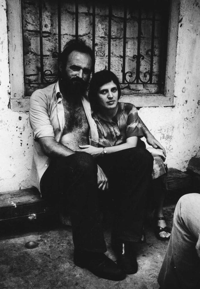 Grandal and Gilda, Havana, 1980