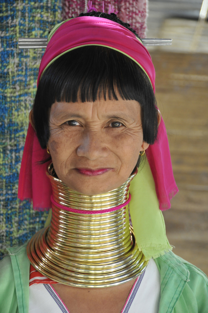 Long Neck Woman, Northern Thailand 2011