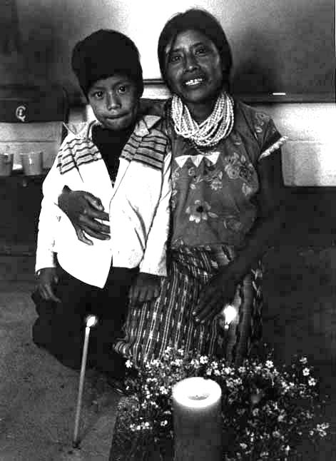 Mother and Son, Santa Cruz del Quiche, Guatemala