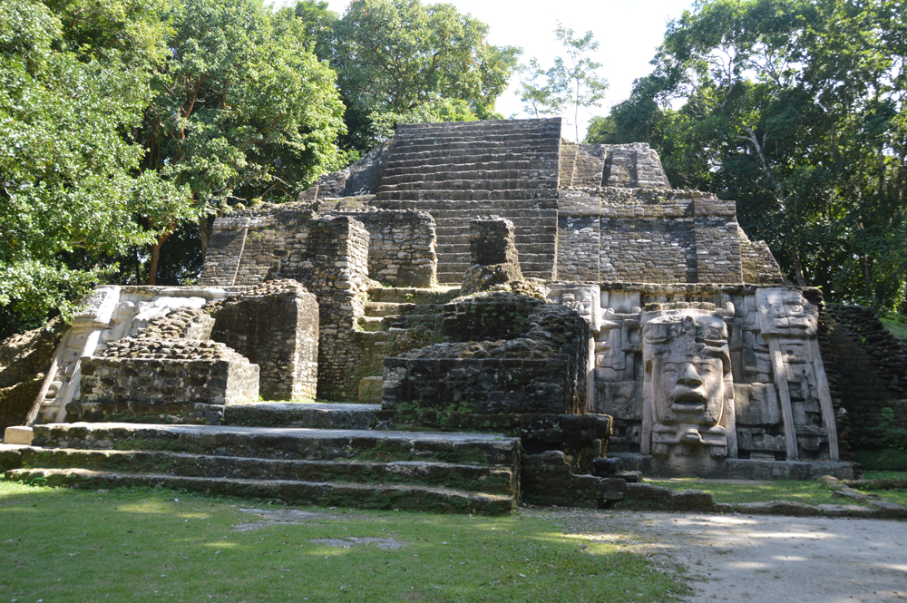 Temple of the Mask, Lamanai, Belize 2012