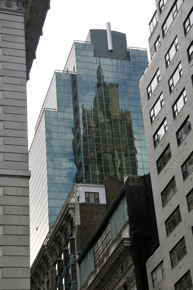 New York, Midtown Reflection 2011