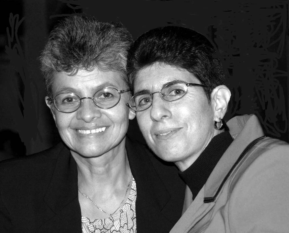 Sonia Bettez and Janice Kando