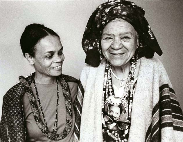 Sonia Sanchez and Queen Mother Moore