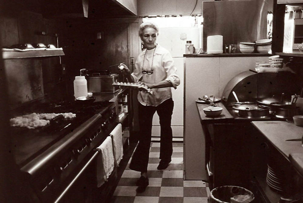 Cook at Diner, Petaluma, California