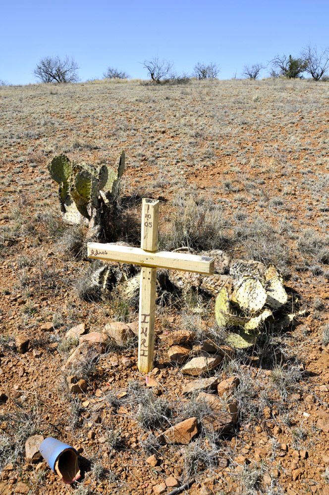 Grave of Unknown Immigrant, Near Nogales, Arizona