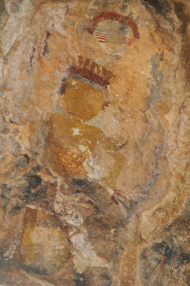Tompiro Pictograph in Southern New Mexico