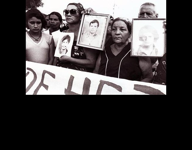 Mothers Demanding Justice for their Dead Sons and Daughters, Managua, 1981