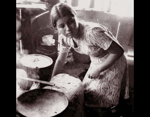 Young Woman Cooking, Esteli, 1979