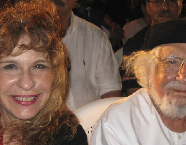 Gioconda Belli and Ernesto Cardenal 2013