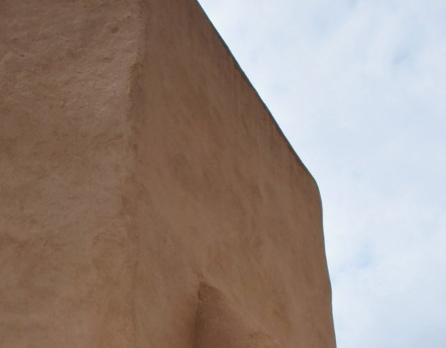 Ranchos de Taos Church Detail