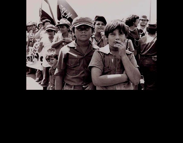 Young Boys in Militia, Managua